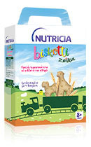 Nutricia Biskotti Ζωάκια