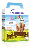 Nutricia Biskotti Κακάο - Χάρτινη συσκευασία των 180 γρ.