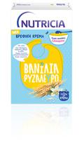 NUTRICIA Βανίλια Ρυζάλευρο - Χάρτινη συσκευασία των 250 γρ.