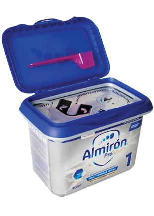 Almiron Profutura 1 της NUTRICIA - Νέα πρωτοποριακή συσκευασία με καινοτόμο σχεδιασμό και σφραγίδες ασφαλείας.